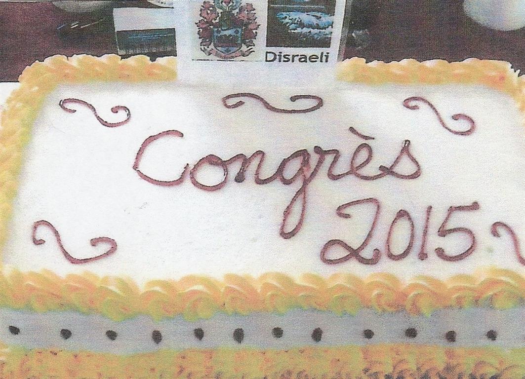 2015 - Congrès à Disraëli