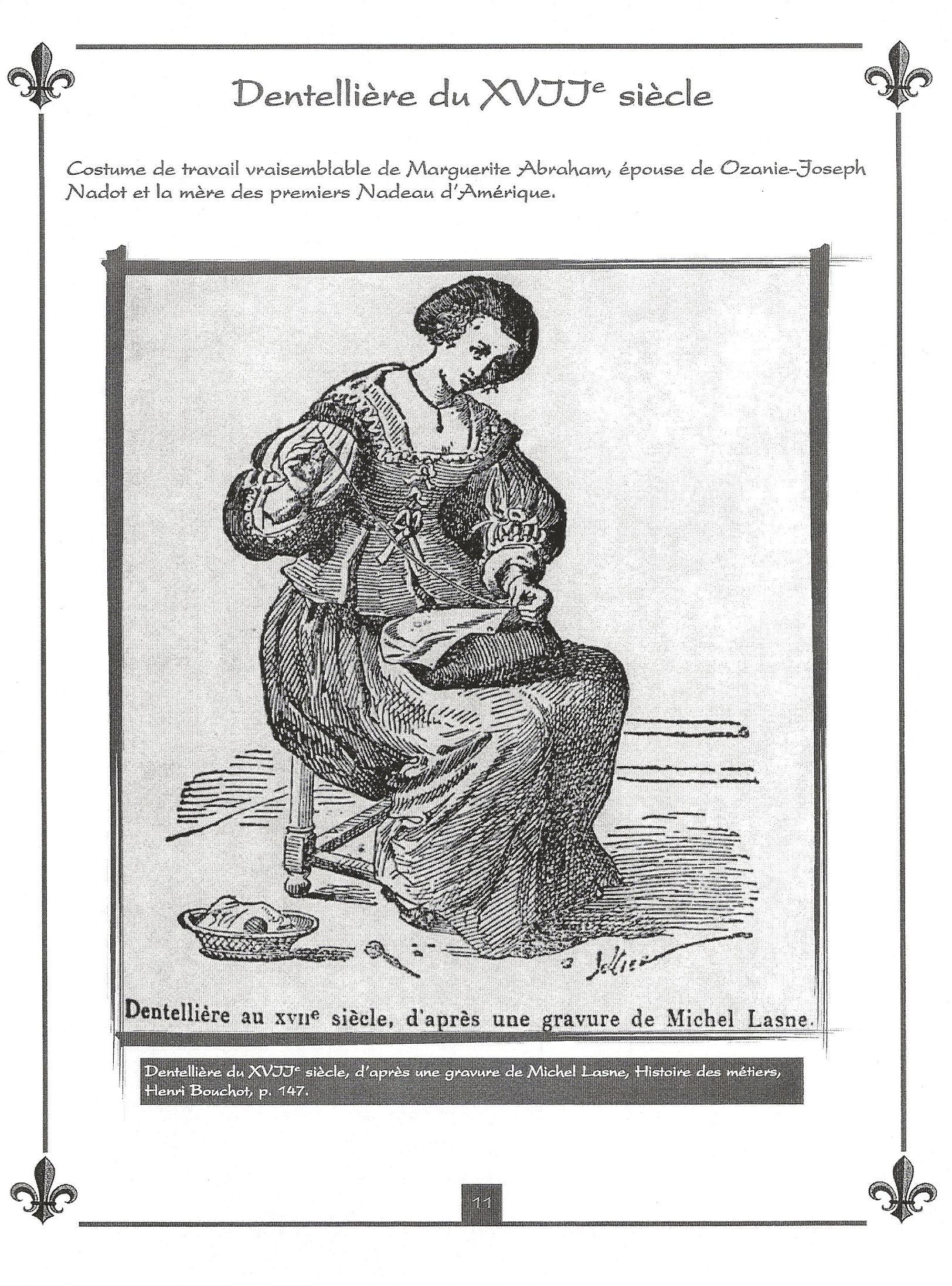 Ozanie Nadeau et Marguerite Abraham