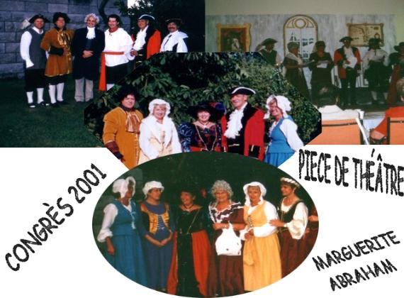 Marguerite Abraham - Théâtre en trois actes