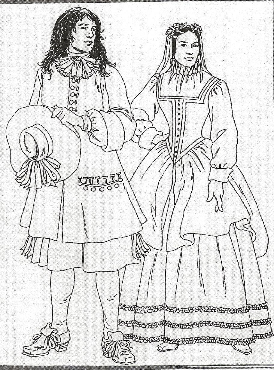 Olivier-François Nadeau et Marguerite Forcier
