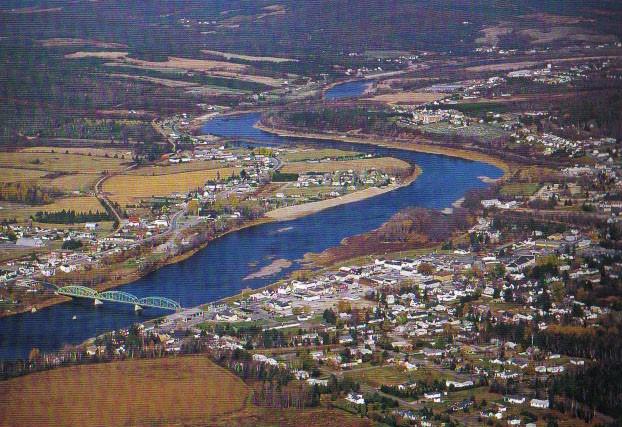Rivière Saint-John à Fort Kent (Sigfroid et Joseph (José) Nadeau